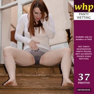 A nice re-wetting of Charlotte's panties