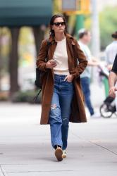 Katie Holmes - Out in New York 10/04/2018