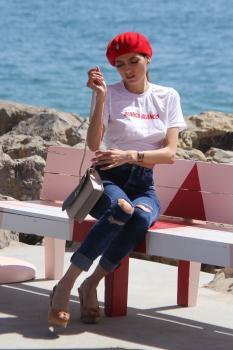Blanca Blanco enjoying the sites on the Malibu Pier 10/5/18 06rmevx1nt.jpg