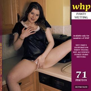 Rebekah Jordan uses the kitchen sink for a change.