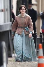 Emma Watson - Filming Little Women in Boston - 10.09.2018 84710466_001