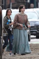 Emma Watson - Filming Little Women in Boston - 10.09.2018 84710475_007