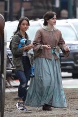 Emma Watson - Filming Little Women in Boston - 10.09.2018 84710478_008