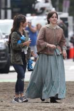 Emma Watson - Filming Little Women in Boston - 10.09.2018 84710488_014