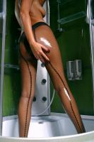 Julia O - Taking hot shower in sexy tights 16rpqgjue1.jpg