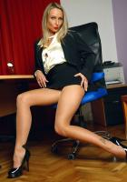 Mia - Business Babe Sexy In Nylons w6rq68ovey.jpg