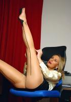 Mia - Business Babe Sexy In Nylons z6rq69oeqc.jpg