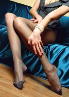Lilly - Skinny babe with long pantyhose legs v6rqq7kypa.jpg