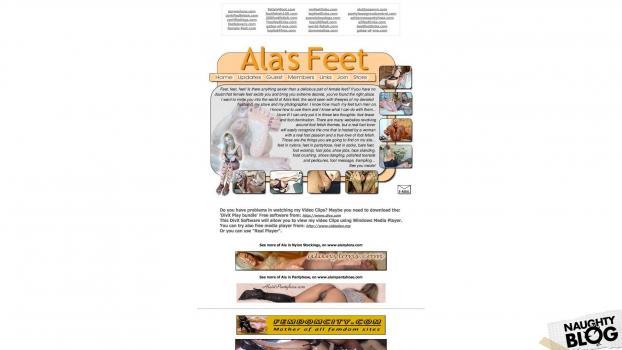AlasFeet.com - SITERIP