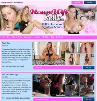 HousewifeKelly (SiteRip) Image Cover