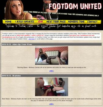 FootdomUnited (SiteRip) Image Cover
