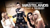 GirlsWay   April O'Neil, Abigail Mac, Cherie DeVille, Kenna James   Wastelands Episode 4